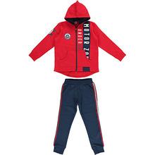 Ido | Комплект: футболка с длинным рукавом, брюки iDO для мальчика | Clouty