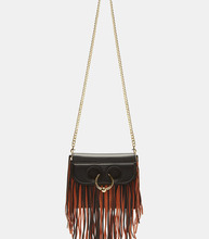 J.W. Anderson | Mini Pierce Fringed Cross Body Handbag | Clouty