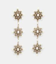 GUCCI | Pearl Embellished Drop Earrings | Clouty