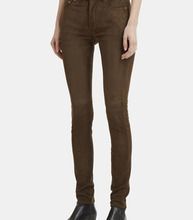 SAINT LAURENT | Suede Skinny Leg Pants | Clouty