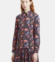 La DoubleJ   Pavone Nero Print Shirt   Clouty