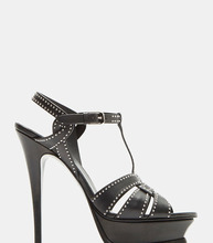 SAINT LAURENT | Tribute 105 Stiletto Sandals | Clouty