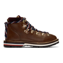 MONCLER | Moncler Brown Blanche Hiking Boots | Clouty