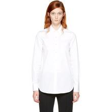 Maison Margiela | Maison Margiela White Slim Shirt | Clouty