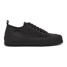 Ann Demeulemeester | Ann Demeulemeester Black Suede Sneakers | Clouty