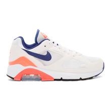 NIKE | Nike White Air Max 180 Sneakers | Clouty