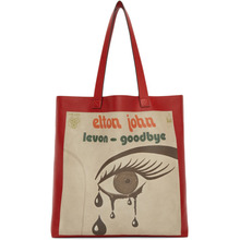 GUCCI | Gucci Red Large Elton John Tote | Clouty