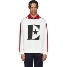 GUCCI | Gucci White Elton John Logo Sweatshirt | Clouty