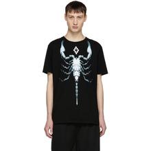 Marcelo Burlon | Marcelo Burlon County of Milan Black Scorpio T-Shirt | Clouty