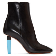 VETEMENTS | Vetements Black and Blue Highlighter Boots | Clouty