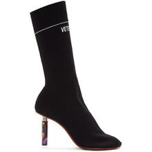 VETEMENTS | Vetements Black Lighter Heel Sock Boots | Clouty