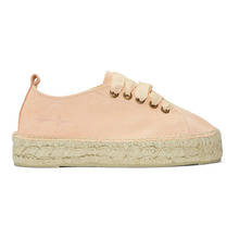 Manebi   Manebi Pink Hamptons Double Sneaker Espadrilles   Clouty