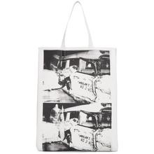 Calvin Klein | Calvin Klein 205W39NYC White Ambulance Disaster Soft Tote | Clouty