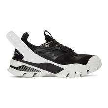 Calvin Klein | Calvin Klein 205W39NYC Black and White Carla Sneakers | Clouty