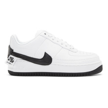 NIKE | Nike White and Black Air Force 1 Jester XX Sneakers | Clouty