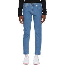 Levi's | Levis Blue Hi-Ball Roll Stripe Jeans | Clouty