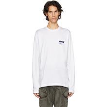 Affix   Affix White Logo Long Sleeve T-Shirt   Clouty
