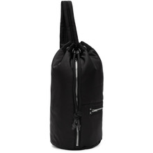 McQ Alexander Mcqueen | McQ Alexander McQueen Black Loveless Gym Backpack | Clouty