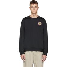 McQ Alexander Mcqueen | McQ Alexander McQueen Black Odyssey Badge Sweatshirt | Clouty