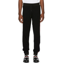 MONCLER | Moncler Black Wool Lounge Pants | Clouty