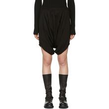 Rick Owens DRKSHDW | Rick Owens Drkshdw Black Mowgli Shorts | Clouty