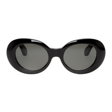 Acne Studios | Acne Studios Black Mustang Round Sunglasses | Clouty