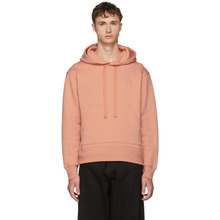 Acne Studios | Acne Studios Pink Ferris Face Hoodie | Clouty