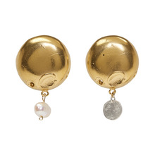 Alighieri | Alighieri Gold The Enigmatic Extrovert Earrings | Clouty