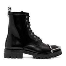 Alexander Wang | Alexander Wang Black London Box Boots | Clouty