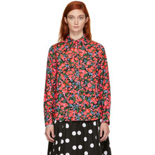 Marc Jacobs | Marc Jacobs Multicolor Floral Printed Shirt | Clouty
