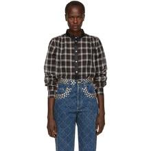 Marc Jacobs | Marc Jacobs Black Plaid Button-Up Shirt | Clouty
