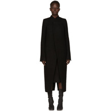 RICK OWENS | Rick Owens Black Tusk Coat | Clouty