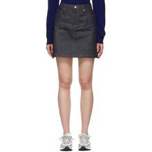 A.P.C. | A.P.C. Indigo Standard Denim Miniskirt | Clouty
