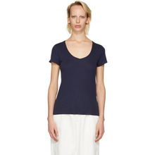 A.P.C. | A.P.C. Navy Paula T-Shirt | Clouty