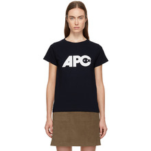 A.P.C. | A.P.C. Navy U.S. Sheena T-Shirt | Clouty