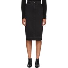 GIVENCHY | Givenchy Black Denim Pencil Skirt | Clouty