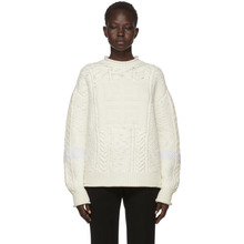 GIVENCHY | Givenchy Off-White High Neck 4G Fisherman Sweater | Clouty