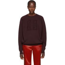 GIVENCHY | Givenchy Burgundy Cashmere Sweater | Clouty