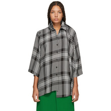 Balenciaga | Balenciaga Black and White Check Double Shirt | Clouty