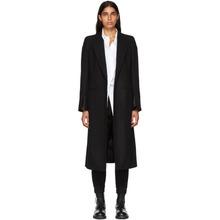 Ann Demeulemeester | Ann Demeulemeester Black Side Clasp Coat | Clouty