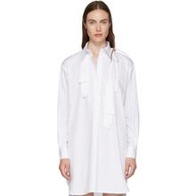 Ann Demeulemeester | Ann Demeulemeester SSENSE Exclusive White Spread Collar | Clouty
