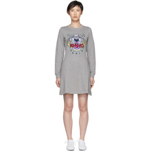 KENZO | Kenzo Grey Tiger Flare Dress | Clouty
