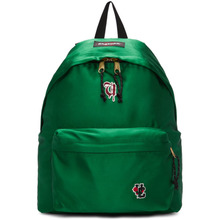 UNDERCOVER | Undercover Green Eastpak Edition Satin Padded Pakr UC Backpack | Clouty