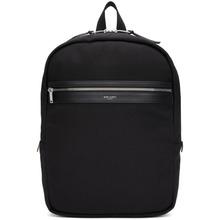 SAINT LAURENT | Saint Laurent Black City Laptop Backpack | Clouty
