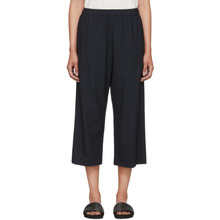 6397 | 6397 Navy Wide-Leg Pull-On Trousers | Clouty
