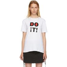 6397 | 6397 White Do It Boy T-Shirt | Clouty