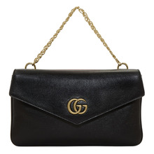 GUCCI | Gucci Black and Red Thiara Double Bag | Clouty
