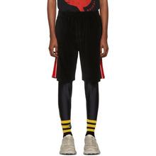 GUCCI | Gucci Black Chenille Bermuda Shorts | Clouty