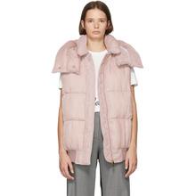Stella McCartney | Stella McCartney Pink Fluid Velvet Vest | Clouty
