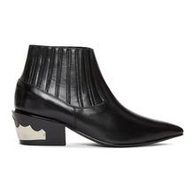 Toga Pulla | Toga Pulla Black Ankle Boots | Clouty